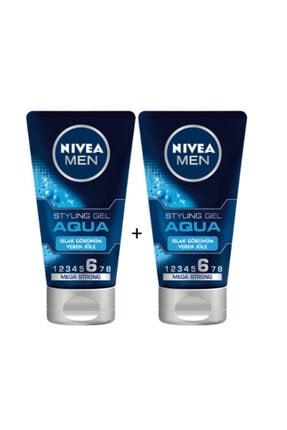 Nivea Jöle Aqua Mega Strong Islak Görünüm No:6 150ml 2 Adet