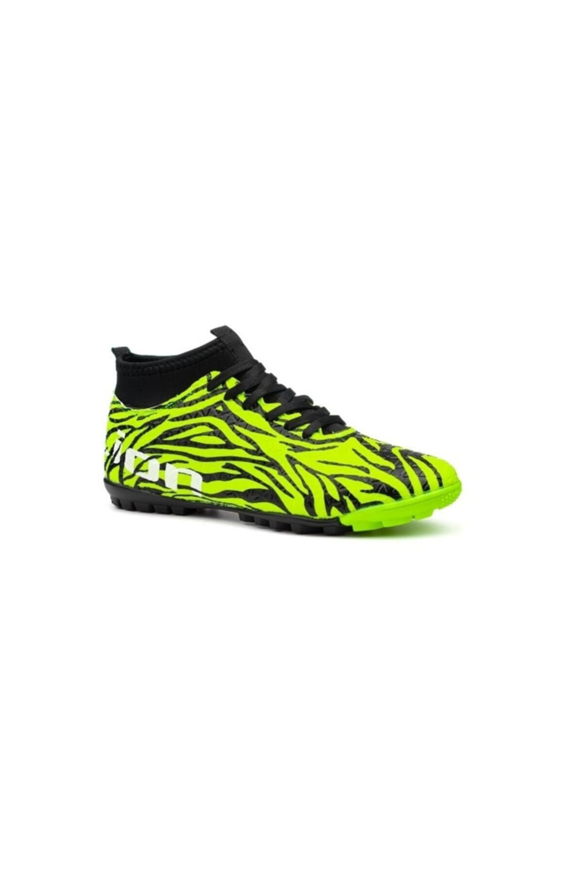 Lion Erkek Çocuk Bilekli Boğazlı Çoraplı Halı Saha Krampon Futbol Spor Ayakkabı 1
