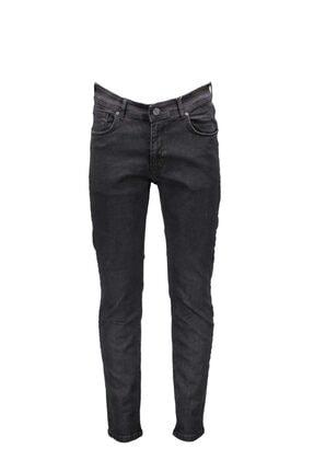 Collezione Siyah Erkek Sıyah Spor Slim Denim Pantolon