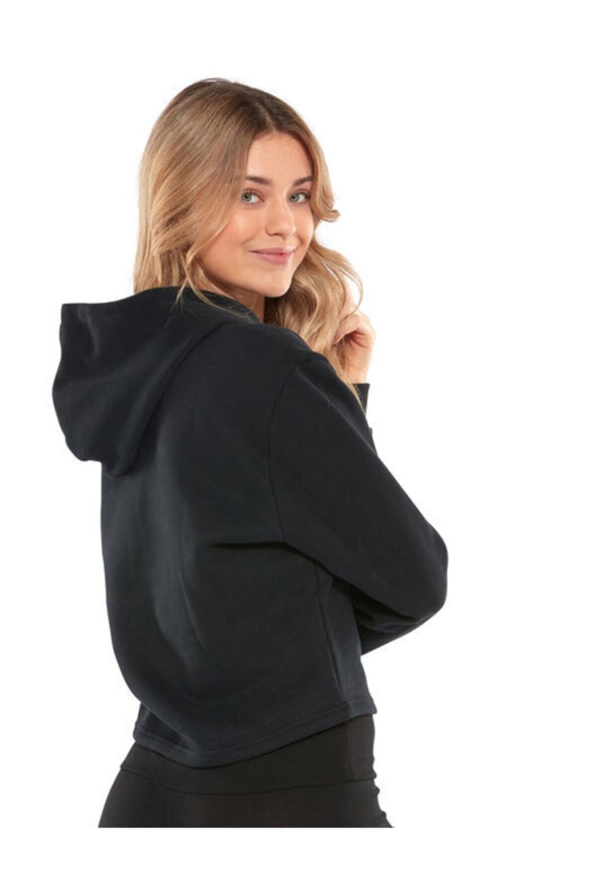 Puma Kadın Siyah Spor Sweatshirt 53096601 2