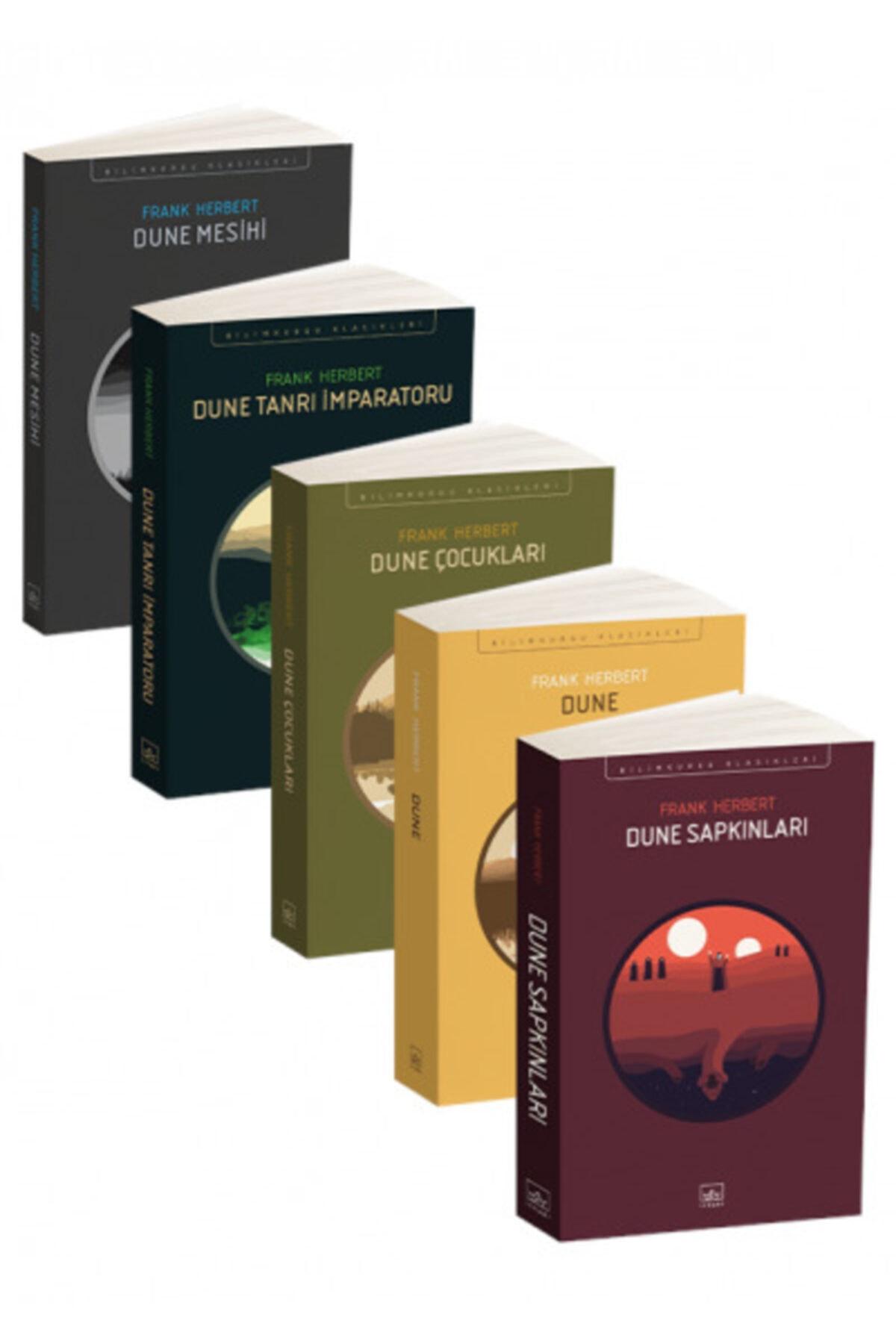 İthaki Yayınları Dune Seti (5 Kitap Takım) 1
