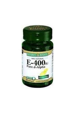 Nature's Bounty Vitamin E-400 Iu 50 Softgel