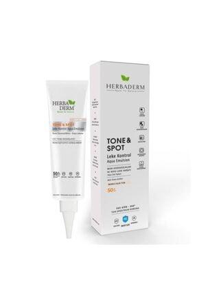Herbaderm Tone & Spot Tam Spektrum Koruma Koyu Leke Karşıtı Ve Renk Düzenleyici Renkli Açık Ton
