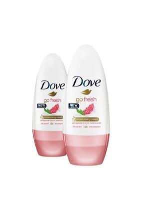 Dove Kadın Deodorant Roll-on Nar 50 ml X2