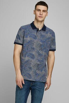 Jack & Jones Erkek Lacivert Polo Yaka T-Shirt