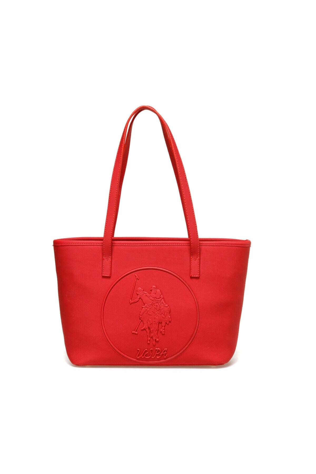 U.S. Polo Assn. Kırmızı Kadın Omuz Çantası US20316 1