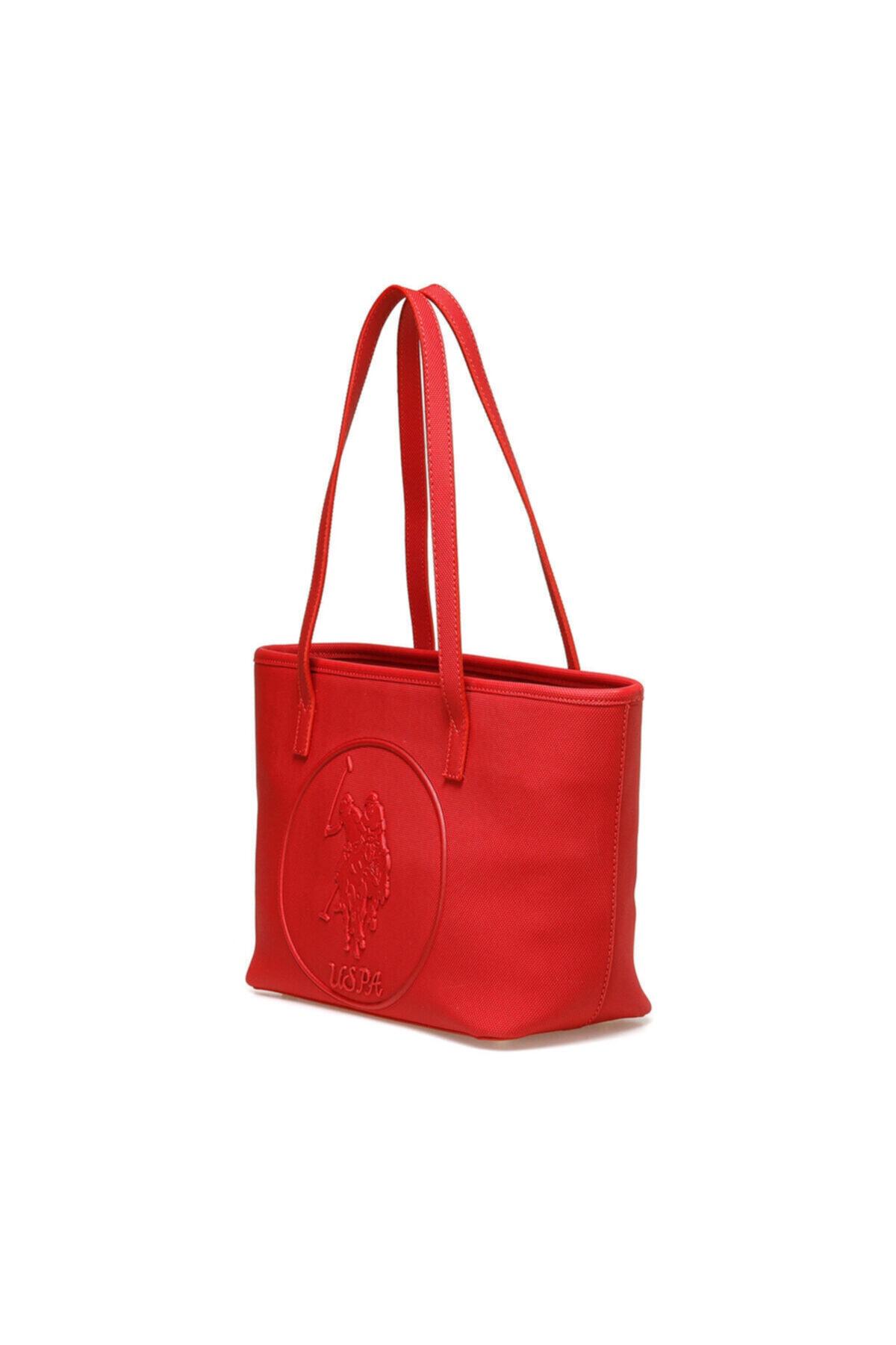 U.S. Polo Assn. Kırmızı Kadın Omuz Çantası US20316 2