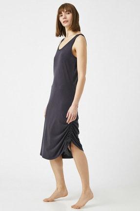 Koton Kadın Antrasit Gece Elbisesi