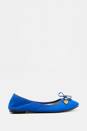 Koton Kadın Mavi Ayakkabı 5YAK21326AA