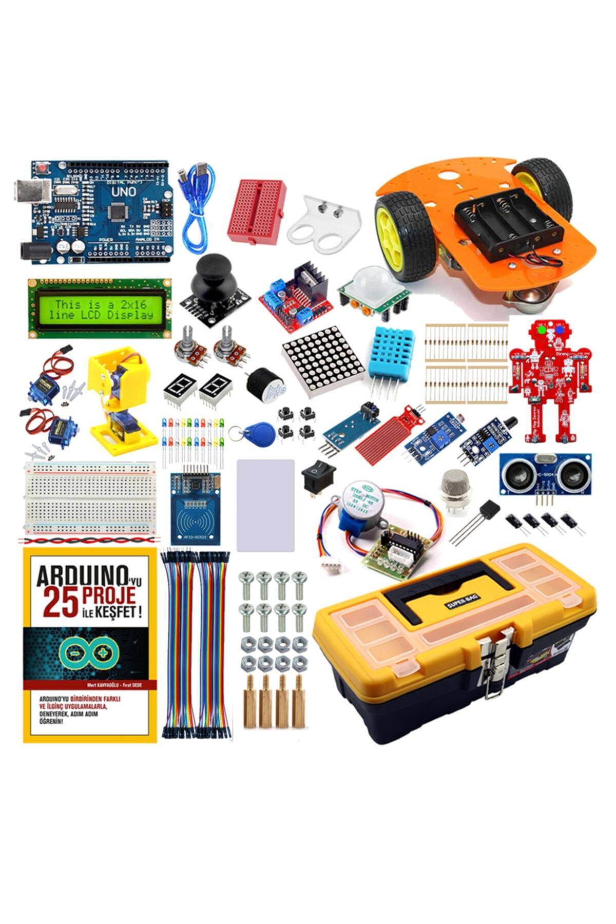 Arduino Maker Eğitim Seti - Online Eğitime Uygun 1