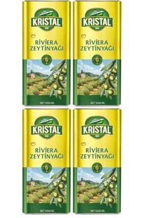 Kristal Riviera Zeytinyağı 5 Lt 4'lü