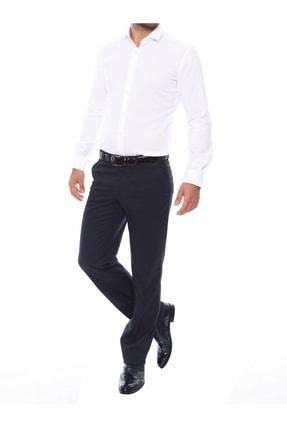 Efor Erkek Lacivert Slim Fit Klasik Pantolon P 853