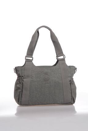 SMART BAGS Kadın Gri Omuz Çantası Smbk1163-0078