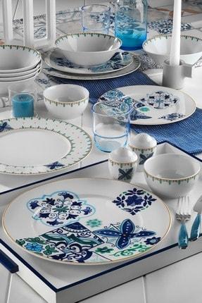 Kütahya Porselen Leonberg Desen 35 Parça Brunch Set Bant 10396