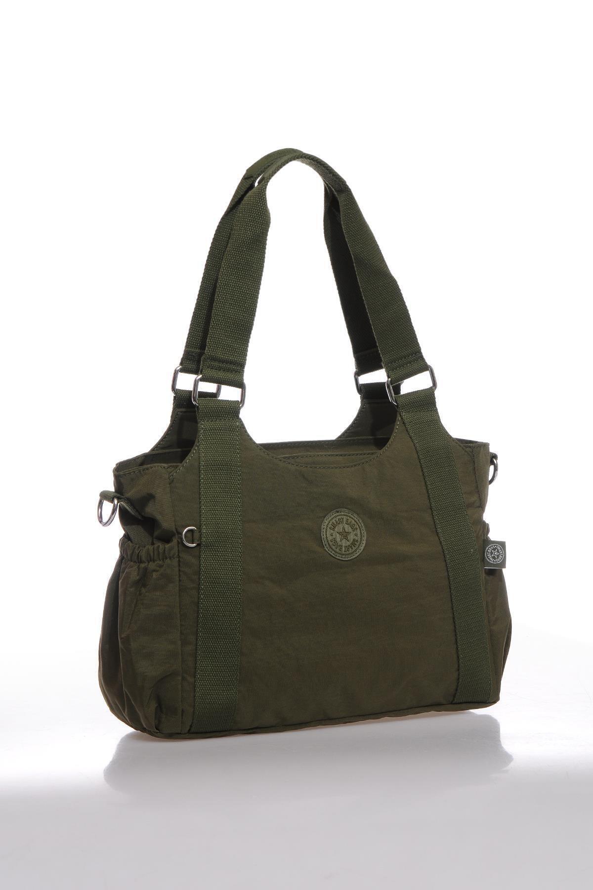 SMART BAGS Kadın Koyu Yeşil Omuz Çantası Smbk1163-0029 2