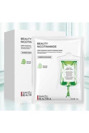 SIAYZU Amino Asit Cilt Beyazlatıcı Anti-aging Maske 10lu Paket