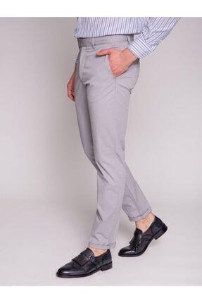 Dufy A.gri Büyük Beden Düz Erkek Pantolon - Battal