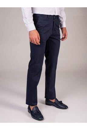 Dufy Erkek Lacivert Düz Regular Fıt Pantolon
