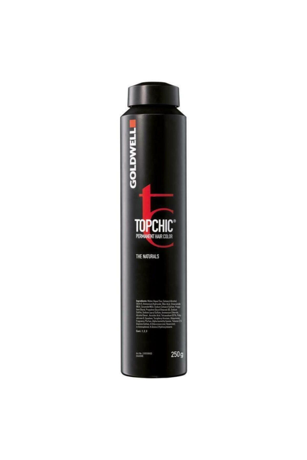 GOLDWELL 6sb Koyu Kumral Soğuk Bej Topchich Kalıcı Saç Boyası 250 ml 1