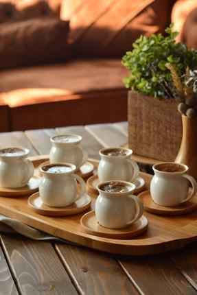 Bambum Torby 6 Kişilik Kahve Takımı B2774