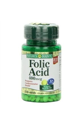 Nature's Bounty Nature´s Bounty Folic Acid 400 Mcg 100 Tablet