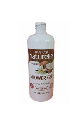 Farmasi Naturelle Coconut Hindistan Cevizli Duş Jeli 360 Ml - 8690131118488