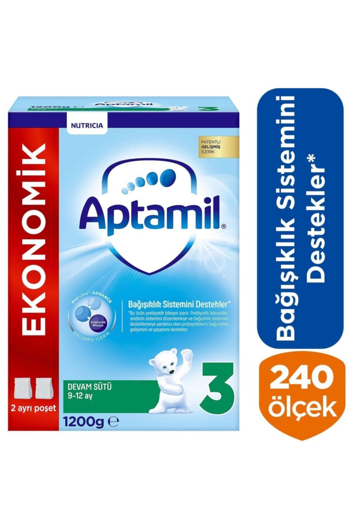 Aptamil 3 Bebek Devam Sütü 9-12 Ay 1200 gr 2