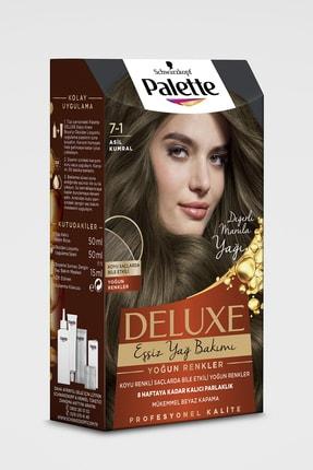 Palette Deluxe Yoğun Renkler 7-1 Asil Kumral Saç Boyası
