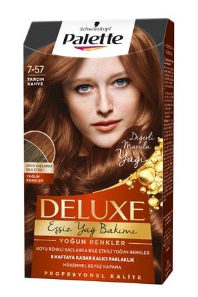 Palette Deluxe Yoğun Renkler 7-57 Tarçın Kahve Saç Boyası