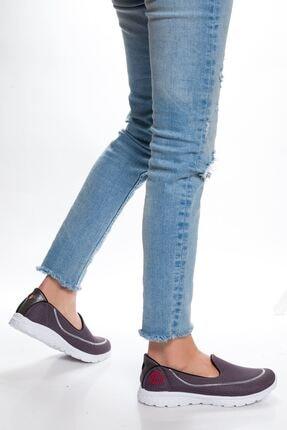 derithy Kadın Antrasit Sneaker