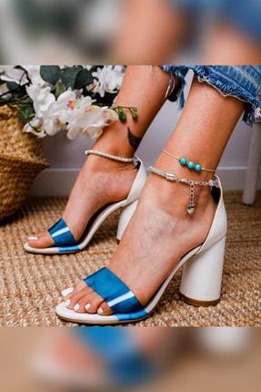 Limoya Kadın Beyaz Klasik Topuklu Ayakkabı 19luk75xx