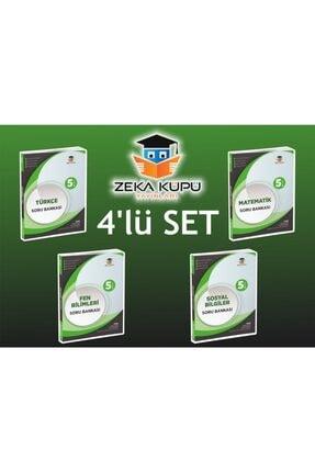 Zeka Küpü Yayınları 5. Sınıf 4'lü Soru Bankası Set
