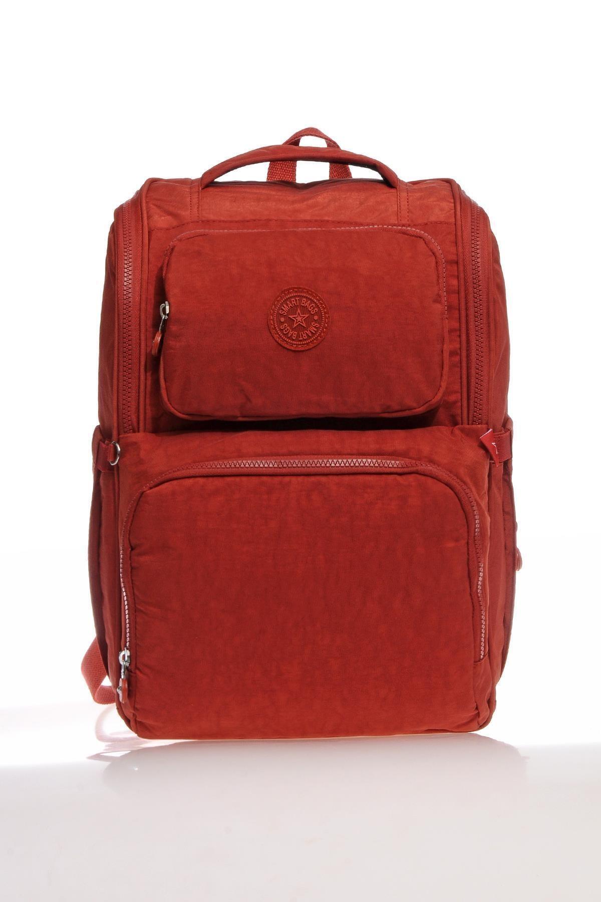 SMART BAGS Smb3000-0019 Kırmızı Kadın Bebek Bakım Sırt Çantası 2