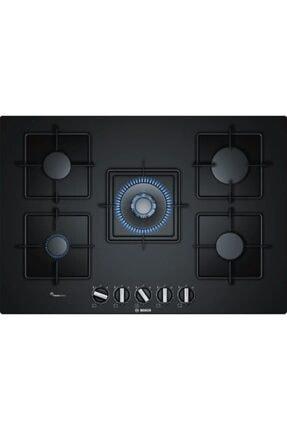 Bosch Wok Gözlü Siyah Cam Ankastre Ocak Ppq7a6b10 75 Cm