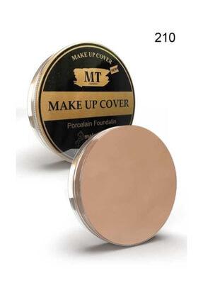 Makeuptime Mt Porselen Fondöten Make-up Cover 210 Normal Ton