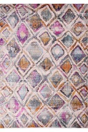 Anatolıan Beyaz Polyester Retro Halı