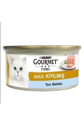 Purina Gourmet Gold Kıyılmış Ton Balıklı Yaş Mama 85 Gr.