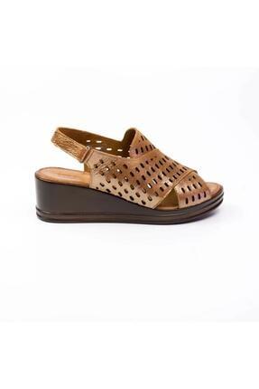 Jump Kadın Kahverengi Sandalet 201238