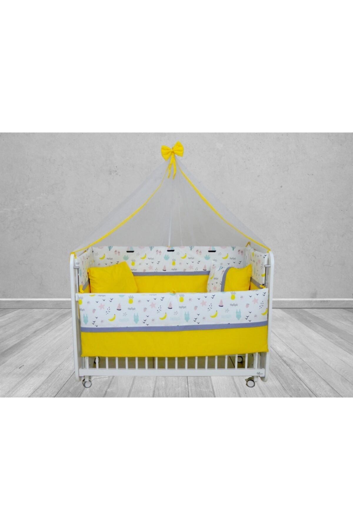 ebrar bebe Bebek Uyku Seti 60*120 Cm Cibinlik Ve Metal Askı Dahil 1