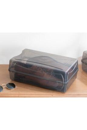 English Home Loya Plastik Erkek Ayakkabı Saklama Kutusu 37x20x13cm Antrasit