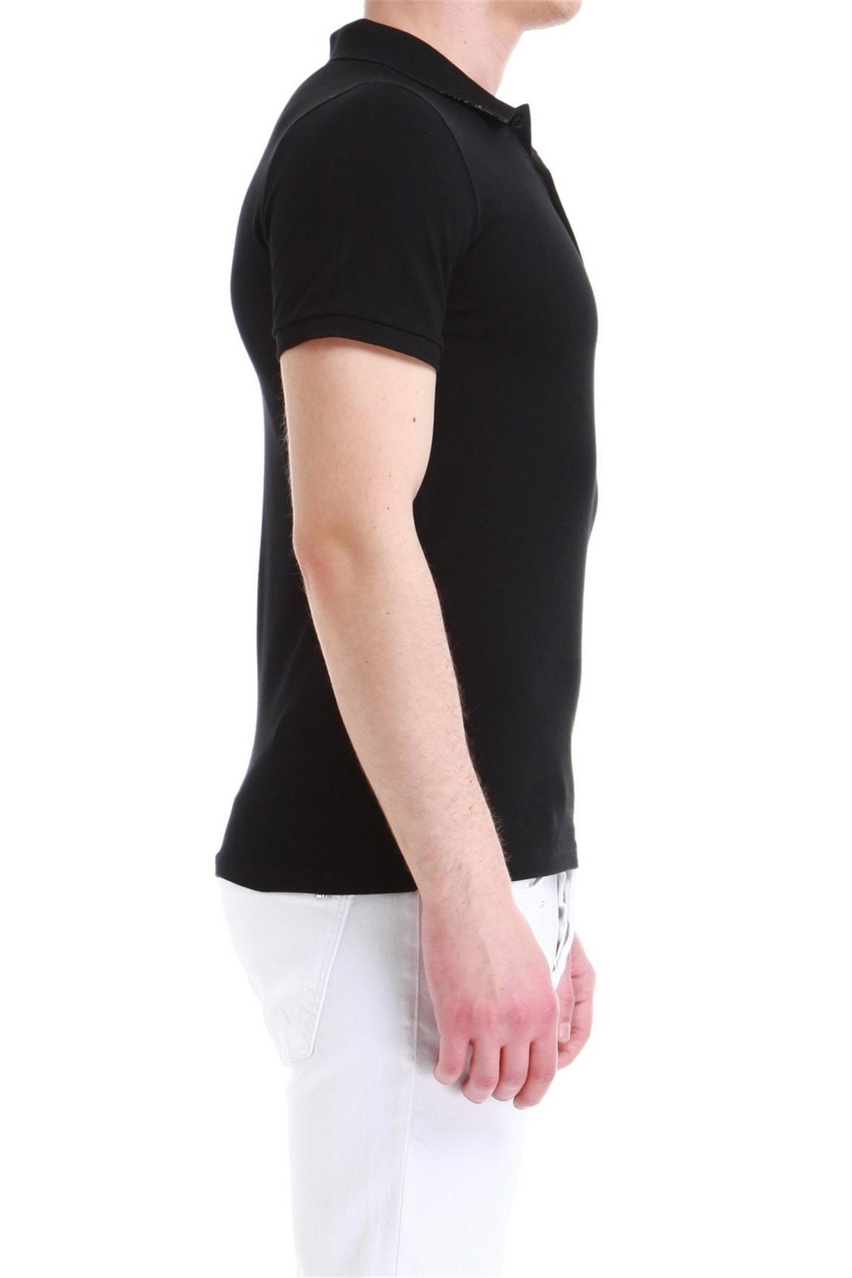 Efor Ts 771 Erkek Slim Fit Siyah Spor T-shirt 2
