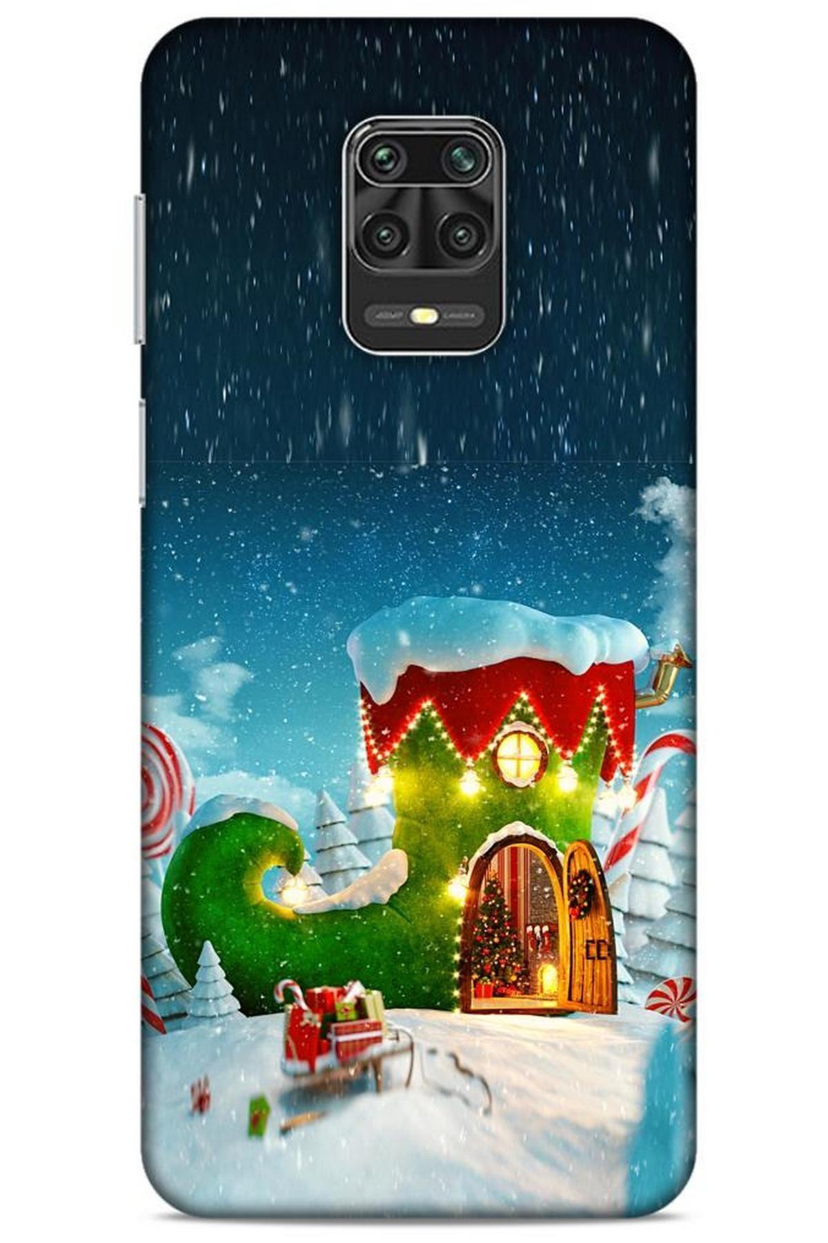 Lopard Xiaomi Redmi Note 9 Pro Kılıf Snowix (4) Koruma Kılıfı Yeşil Lacivert 1