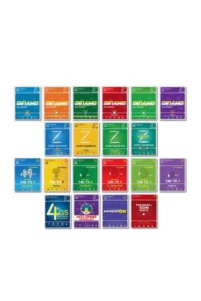 Tonguç Akademi 8. Sınıf Lgs Şampiyon Paketi Seti Tüm Dersler 20 Kitap