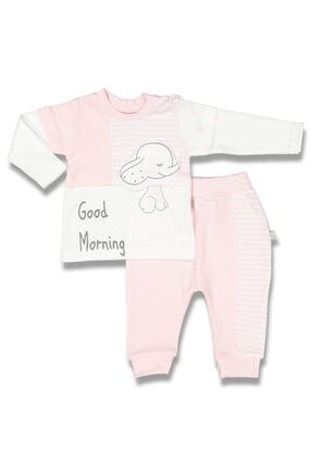 BABYCİM Filli Kız Bebek Pijama Takım