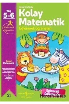 İş Bankası Kültür Yayınlar�� Çıkartmalarla Kolay Matematik 5 6 Yaş