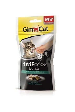Gimcat Nutripockets Kedi Ödülü Dental 60gr