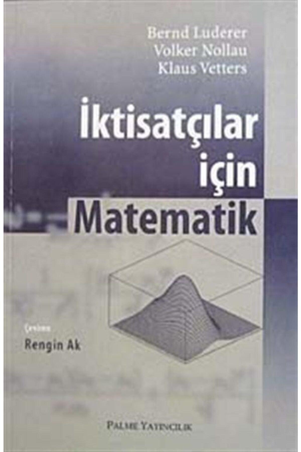 Palme Yayınevi Iktisatçılar Için Matematik 1