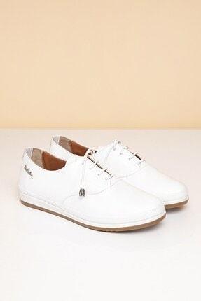 Pierre Cardin PC-50073 Beyaz Kadın Ayakkabı