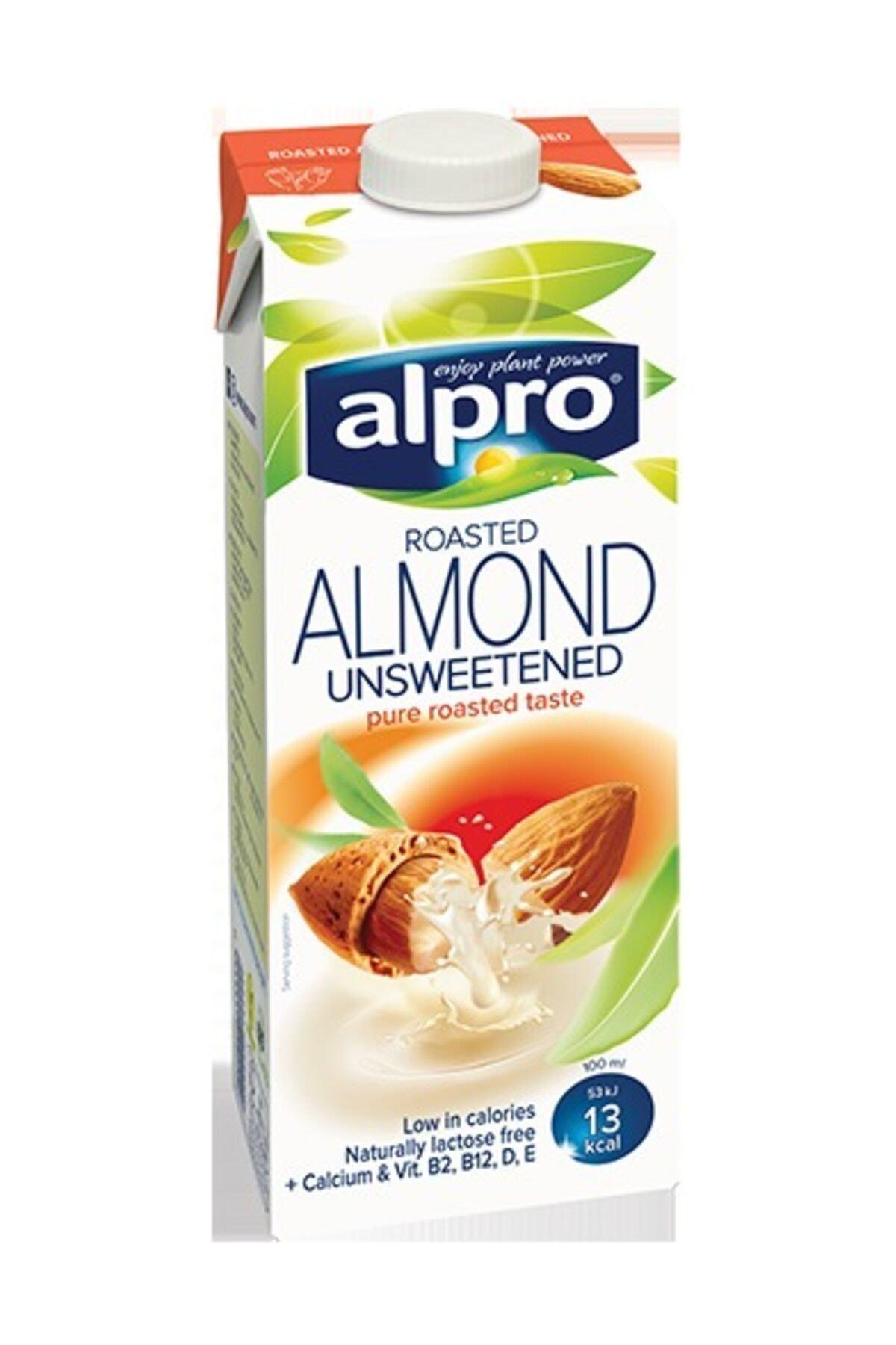 Alpro Şekersiz Badem Sütü 1 lt 1
