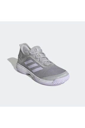 adidas Eh1107 Adizero Club Çocuk Gri Tenis Ayakkabısı